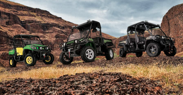 John Deere crossover utility vehicles