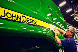John Deere and Company has once again been recognized as a top 100 global brand by Interbrand