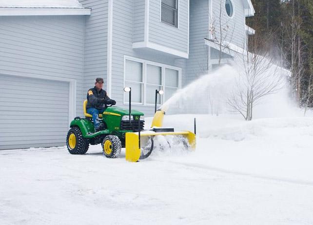 John Deere Riding Mower Snow Blower