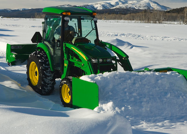 John Deere AS11E Series Snow Pushes