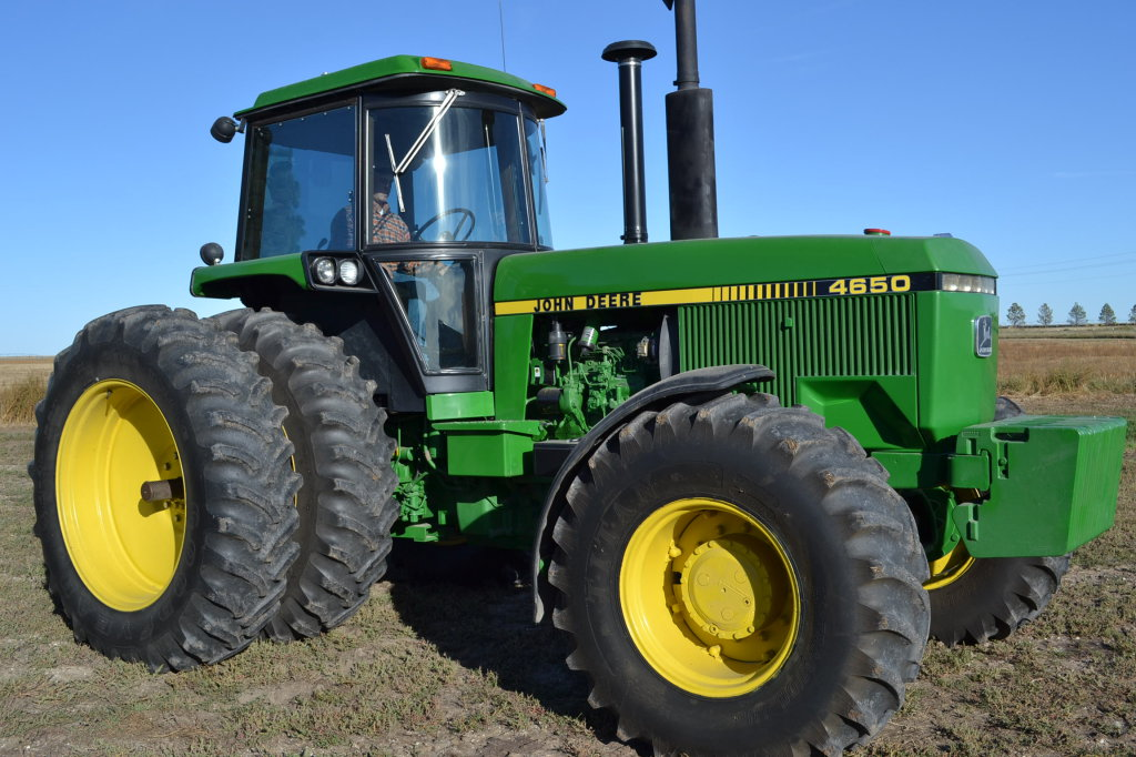 This tractor sold for $58,250 on a 11/20/13 farm auction in northwest Nebraska, the 3rd highest auction price on a 4650 in the past 18 years