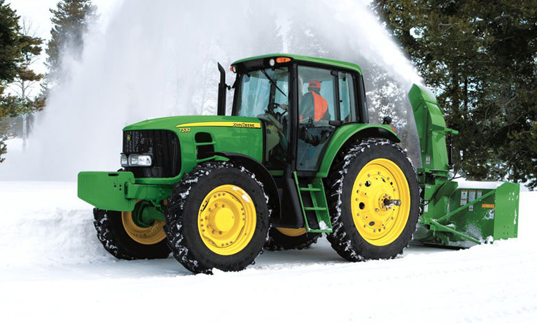 John Deere 7330 Snow Removal Equipment
