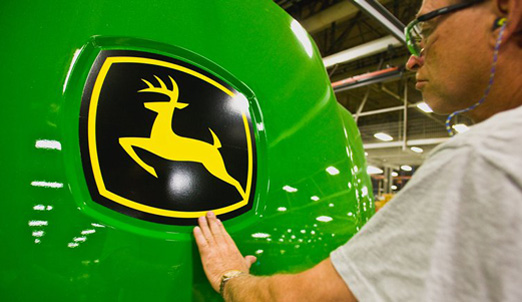 John Deere Most Admired Logo