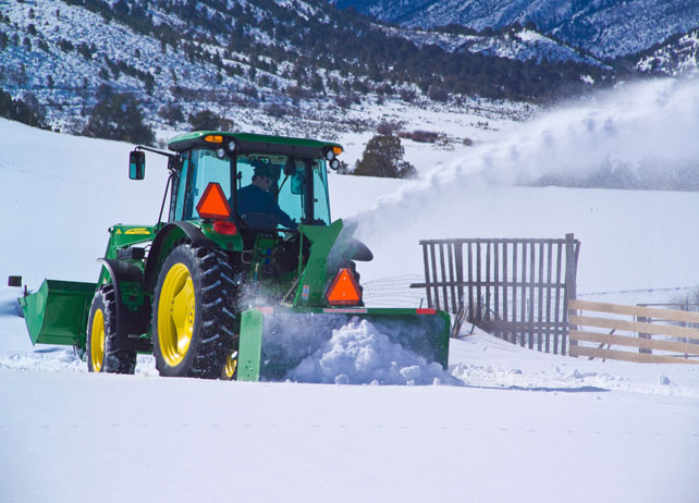 John Deere SB11 Series 3-Point Snowblower