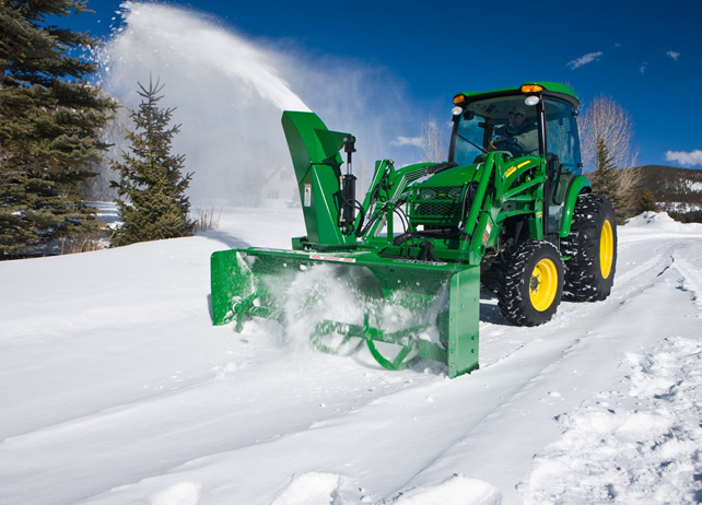 John Deere SB21 Series Loader-Mount Snow Blower