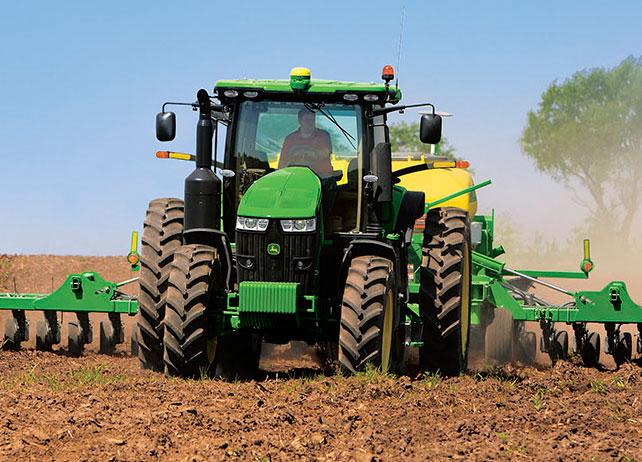 Row Crop tractor