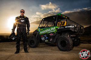 The John Deere RSX850i Gator (pictured above) led the Magnum Off-Road Racing/Vigor Motor Sports team to victory in Taft, California