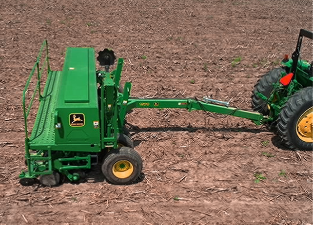 Utilizing John Deere Box Drills to get Seed in the Ground Fast