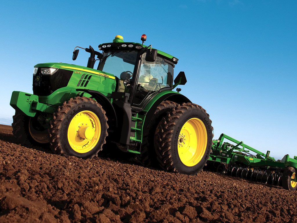 John Deere 6R Series in Field
