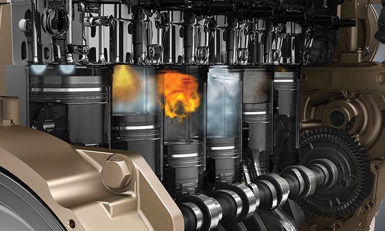 John Deere engine