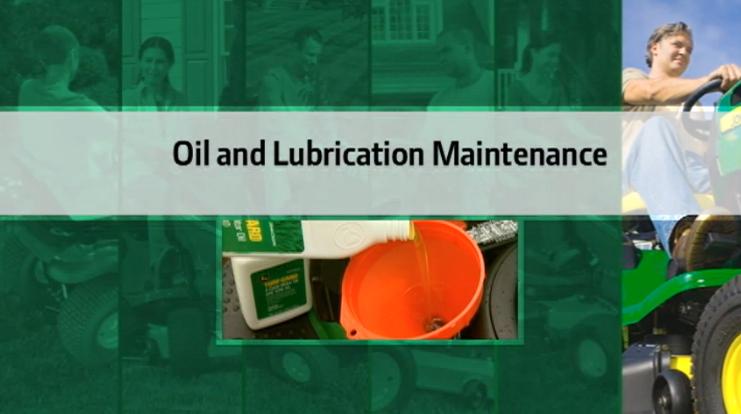 John Deere Oil and Lubrication Maintenance