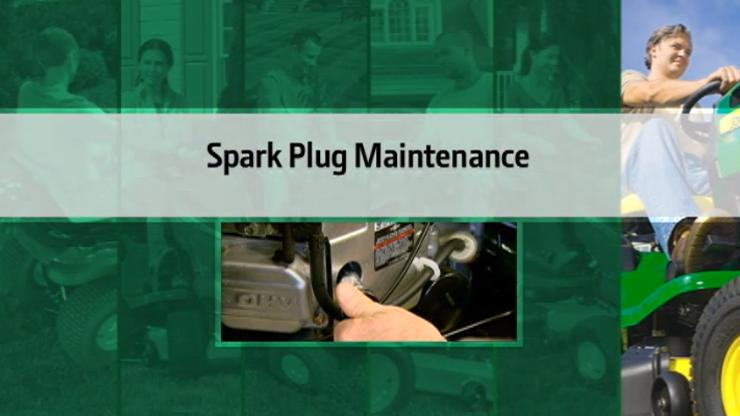 John Deere Spark Plug Maintenance