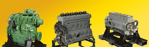 John Deere engine block
