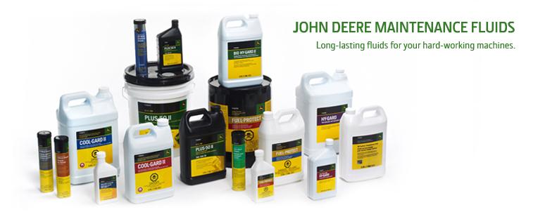 John Deere fluids