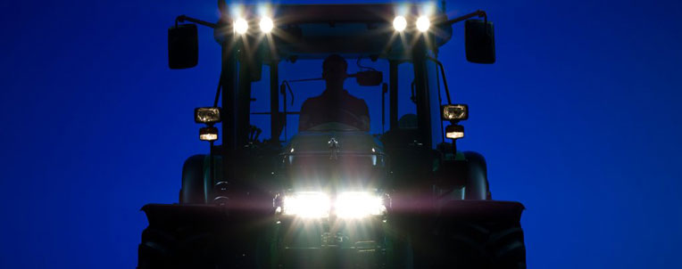 John Deere Front at Night