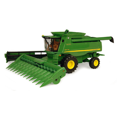 Entertaining Farmers Of The Future With John Deere Combine
