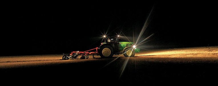 John Deere Planting Attachment Night