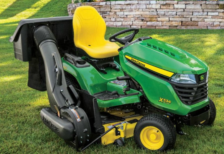 4 Wheel Steer Tractors : Six john deere wheel steering mowers to run circles