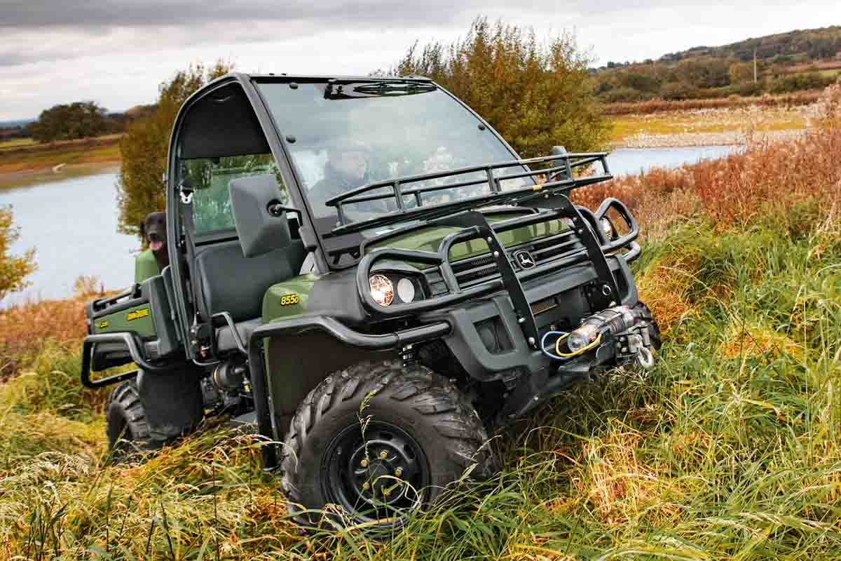 855D Gator Long Grass