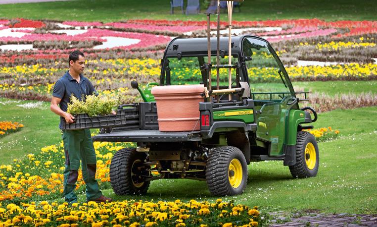 John Deere Gator Flower Bed