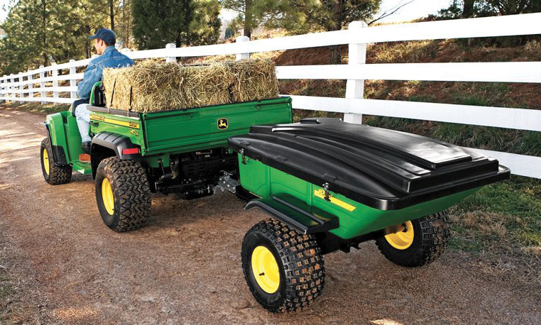 John Deere Gator with Cart
