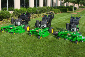 Commercial and residential mowing needs can be easily identified using Deere's new Product Selector tool.