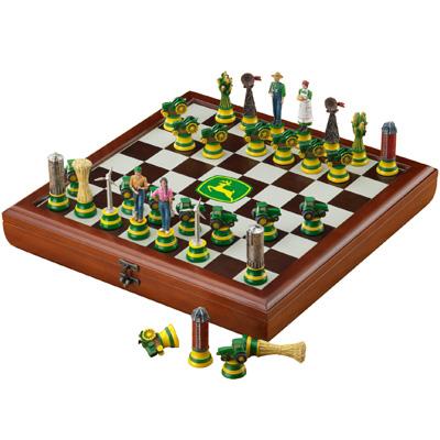 John Deere Chess Set