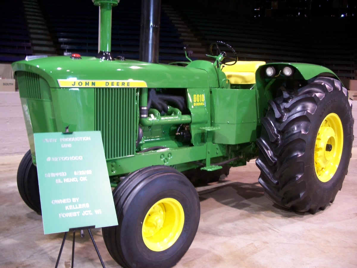 Restored JD 5010 with 1st SN#
