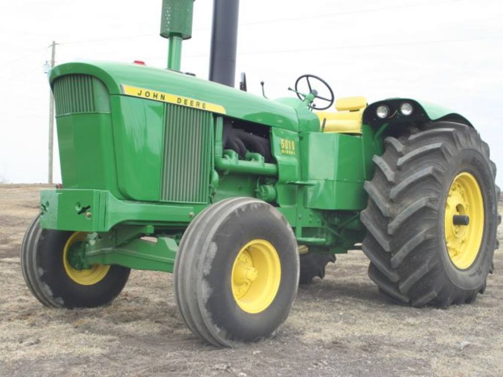JD5010 IA 45K Second Highest Auction Price Ever on John Deere 5010 Tractor