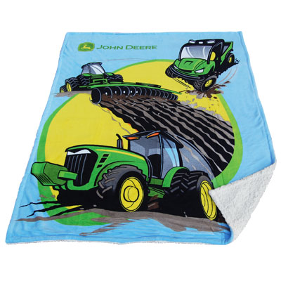 Superb While this blanket design is super cool you will not be This tractor blanket will provide warmth and can also be placed on the ground offering a clean