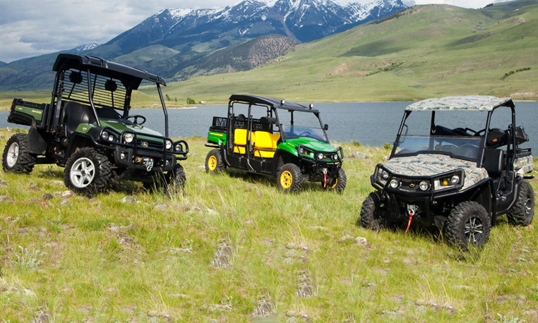 r4a010593 family 762x458 Video Gallery: Doing More with John Deere Gator Parts and Attachments