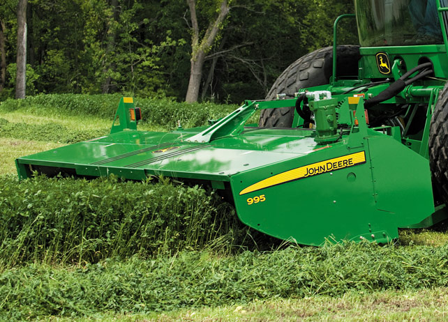 Photo Gallery: Get Swept off Your Feet with John Deere Windrowers