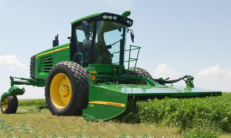 John Deere Windrowers