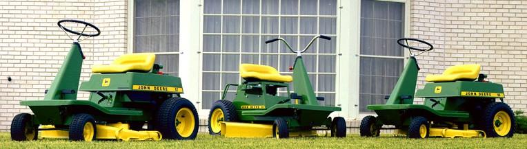 John Deere Vintage Riding Mowers