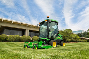 The 1500 Series TerrainCut Front Mowers offer capabilities for all types of weather conditions.