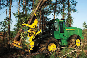 John Deere ForestSight tells customers and dealers what the machine needs to maximize productivity and uptime.