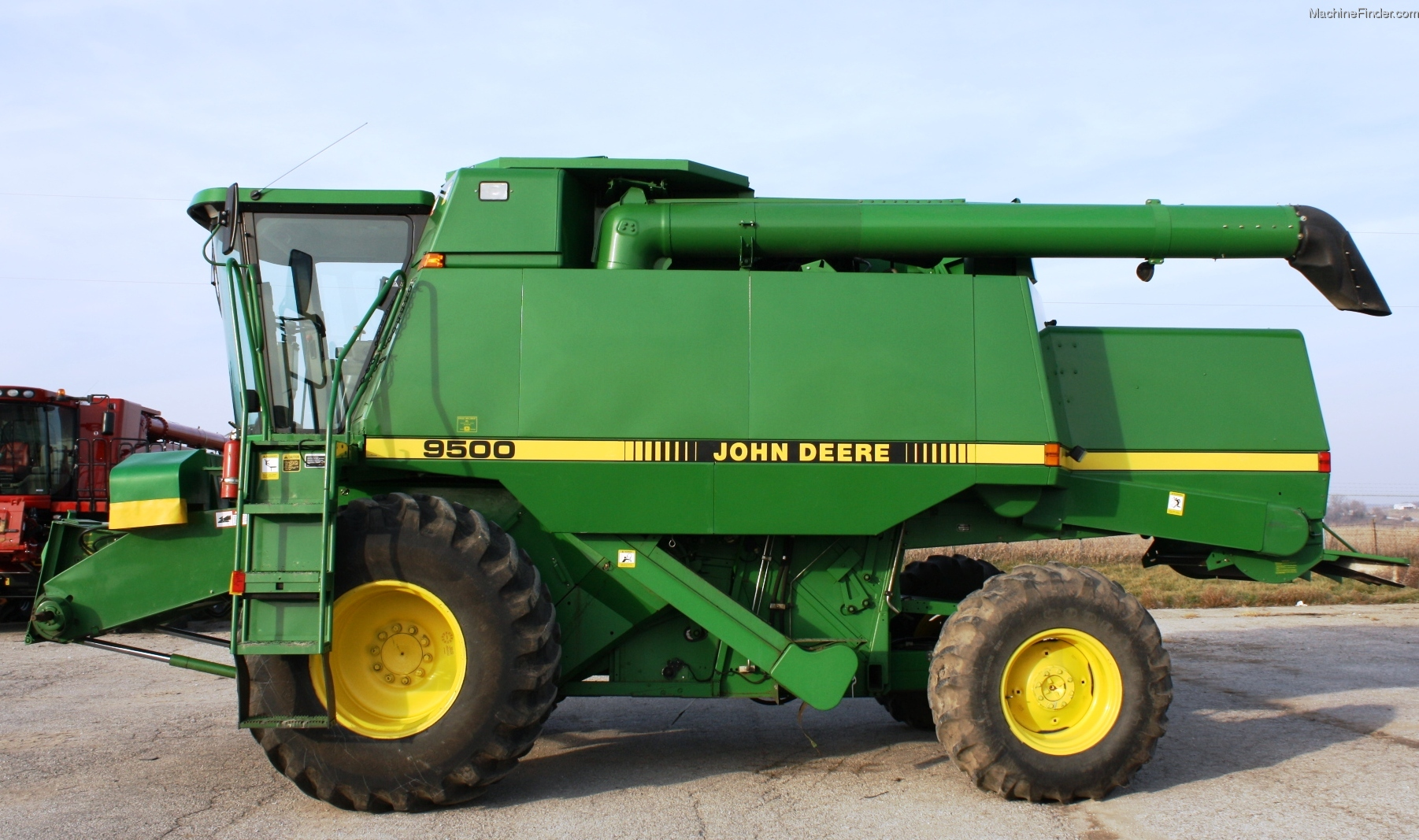 Time Portal John Deere 9000 Series bines Transformation