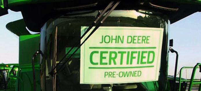 John Deere CPO Combine