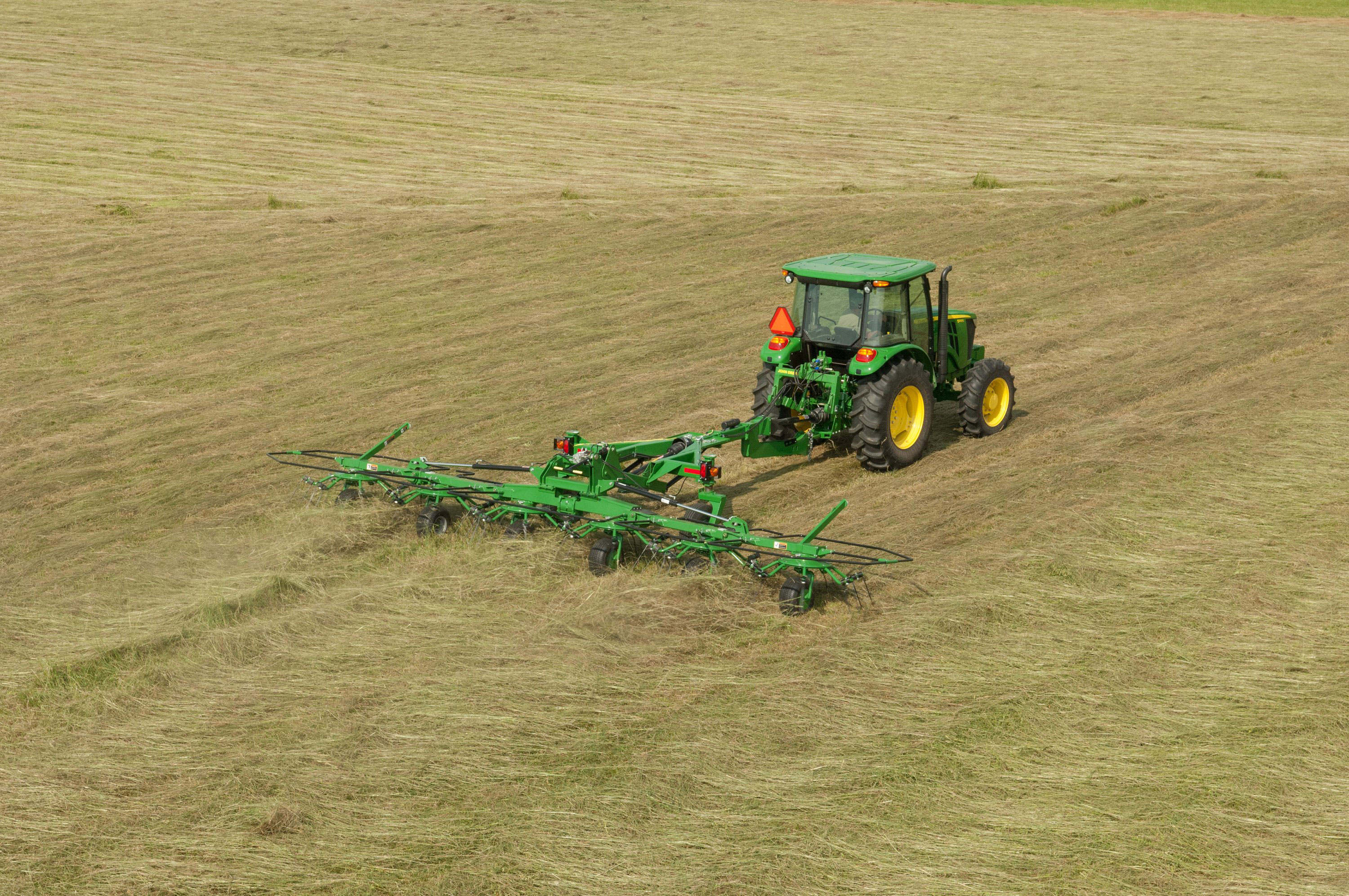 John Deere New Hay Equipment