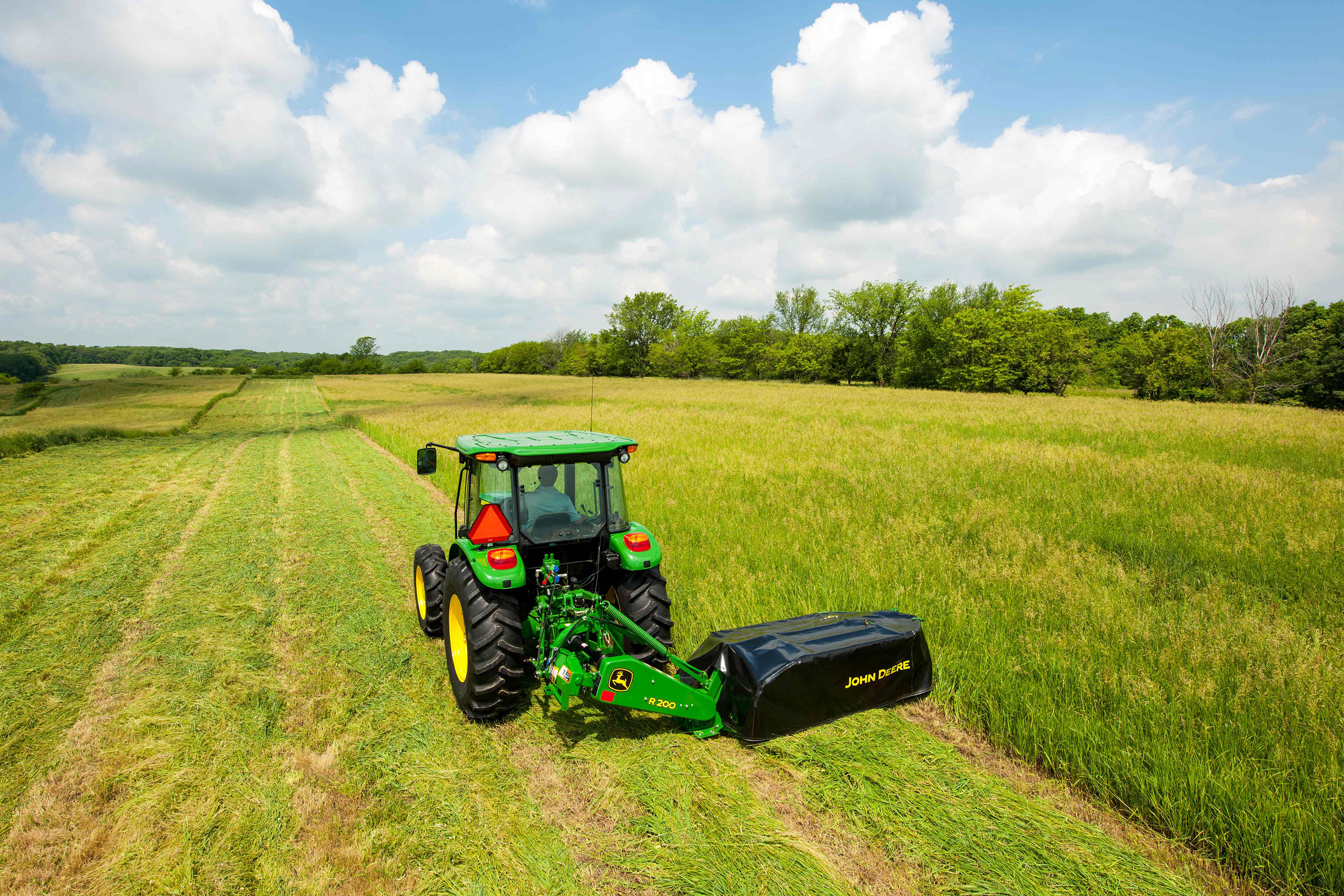 John Deere R Series Disc Mower