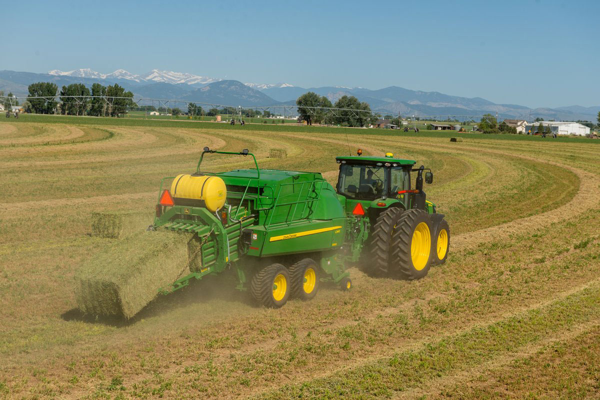 New Large Square Balers