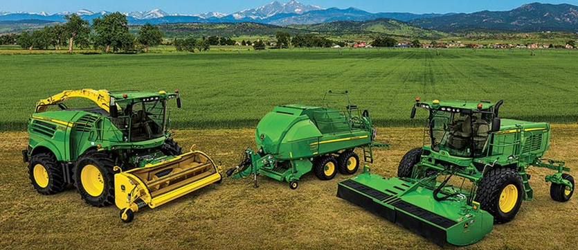 New Line of John Deere Hay Equipment