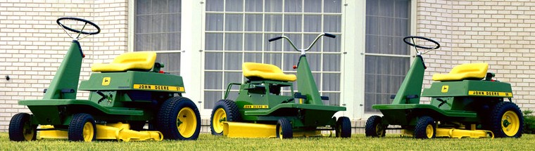 Riding Mower History