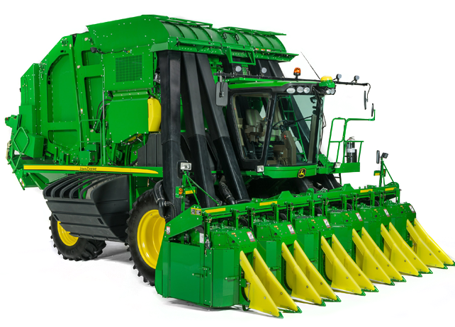 r4a048116 cp690 642x4621 Picking More Cotton in Less Time with the John Deere CP690