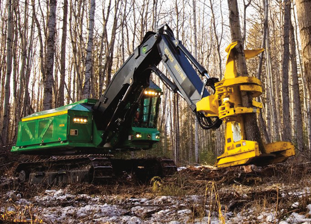 Find The Root Of Your Problems With John Deere Feller Bunchers