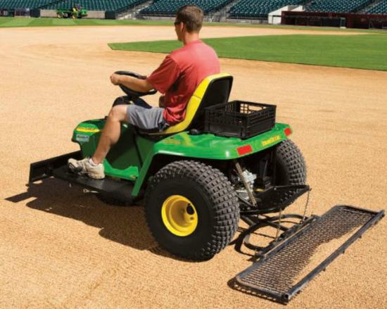 baseball field grooming machine