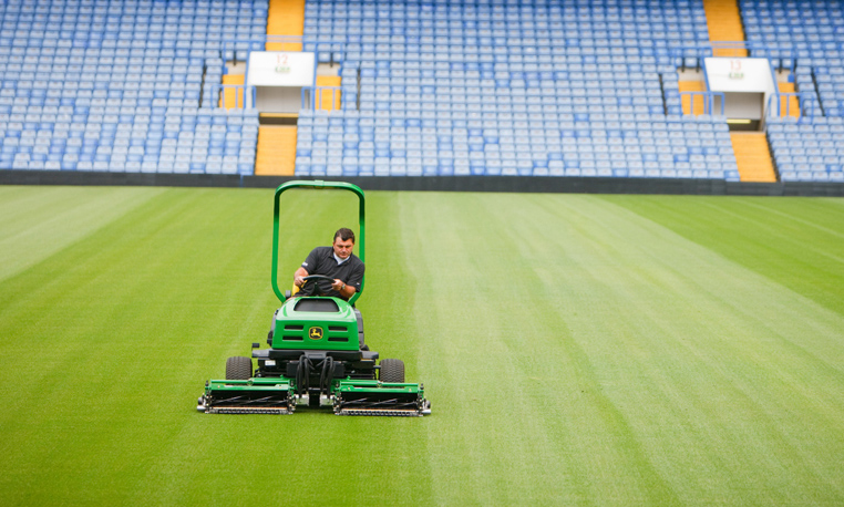 Priming The Playing Field With John Deere Sports Turf
