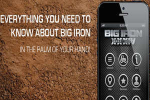 The new Big Iron Farm Show mobile app will help visitors navigate around this year's event.