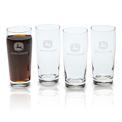 John Deere Glass Beverage Set