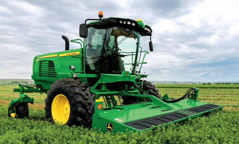 Windrower Main John Deere Windrowing Equipment: From Small Grains to Forage